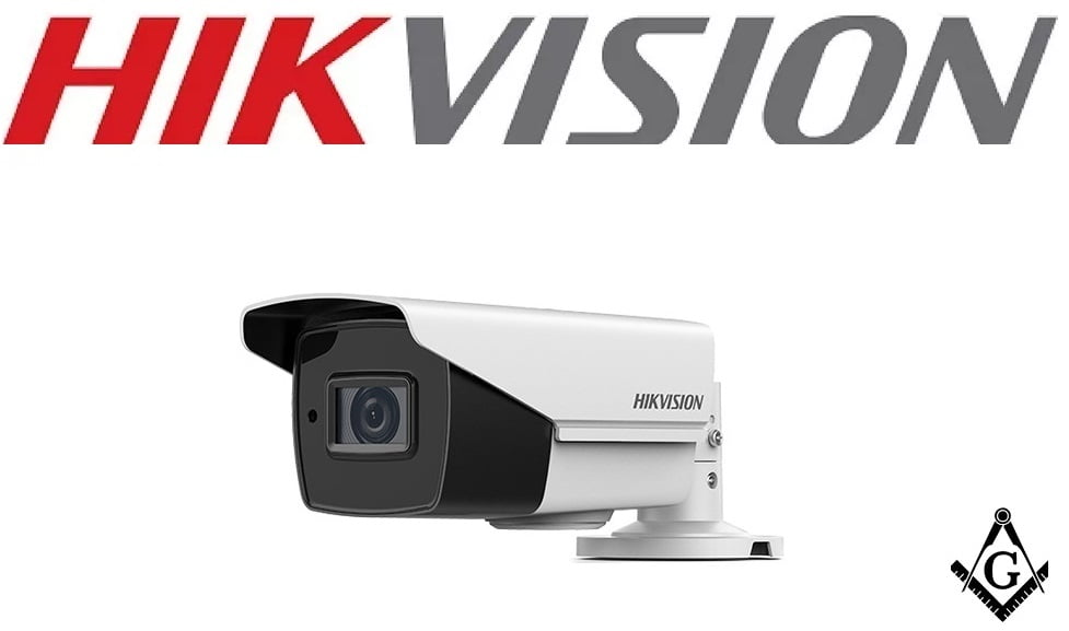 Camera with Night Vision Hikvision TurboHD DS-2CE19U8T-AIT3Z 8MP Outdoor HD-TVI Bullet