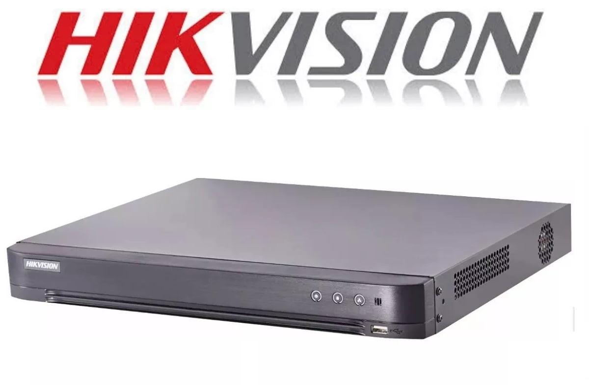 Gravador Dvr Stand alone hikvision DS-7208HUHI-K2 8 CANAIS 5 EM 1 TVI - CVI - HDI - CVBS - IP  H.265