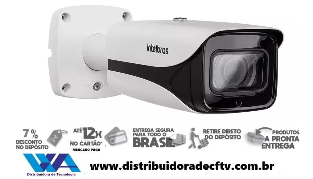 Câmera de segurança IP Full HD 4MP Intelbras VIP 5450 Z G2 4MP