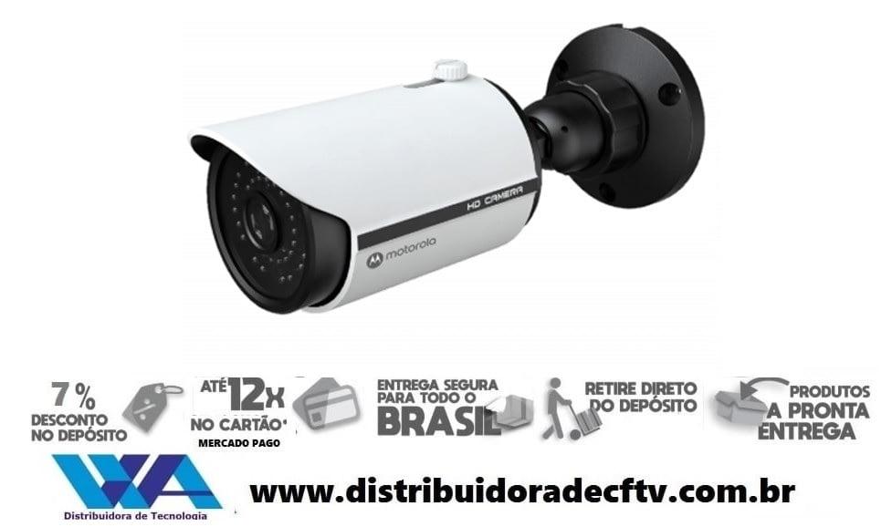 Câmera de segurança e cftv motorola Varifocal Motorizada IP de 5MP Bullet de Metal MTIB305MV