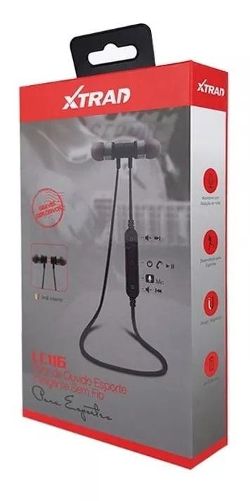 Fone De Ouvido Bluetooth Lc-115 - Xtrad