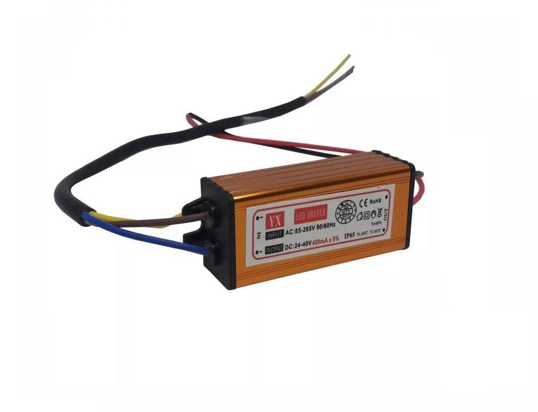 Reator Driver para chip led QD 50W - 0,75