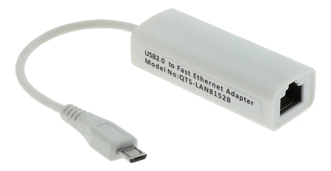 Micro Usb 2.0 Para Ethernet Rj45 Network Lan Placa Adaptador