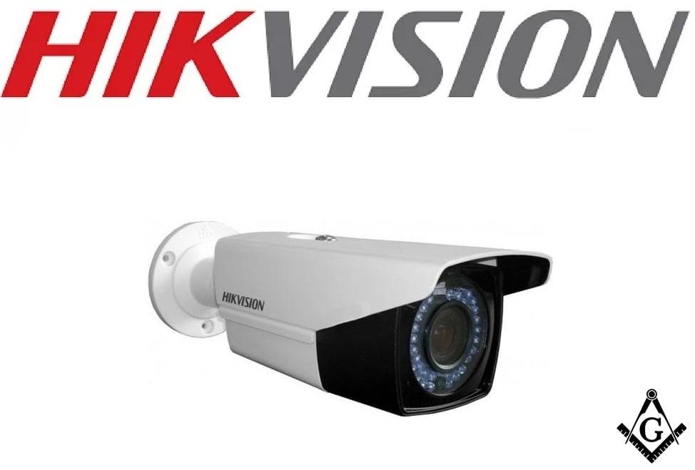 Câmera Bullet Hikvision DS-2CE16D0T-VFIR3E Varifocal lente 2.8 mm to 12 mm 2MP - IR40 - IP66