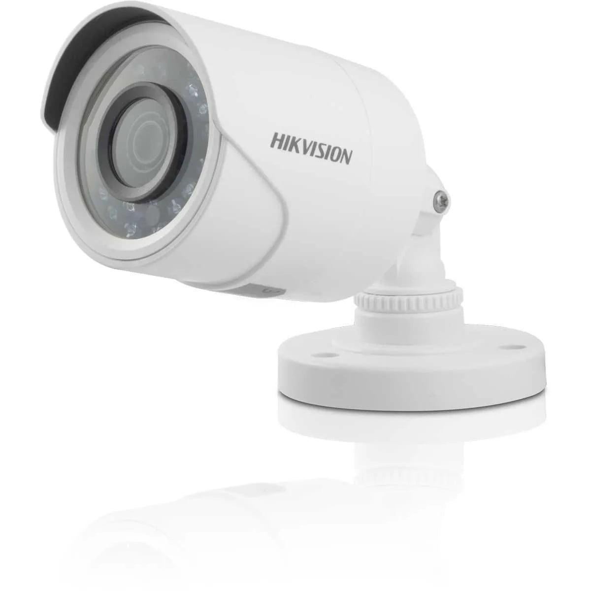 Câmera Hikvision DS-2CE16DOT-IRPF de segurança e infra vermelho 2MP Full HD 1080p Turbo HD Bullet 20 metros lente 2.8mm