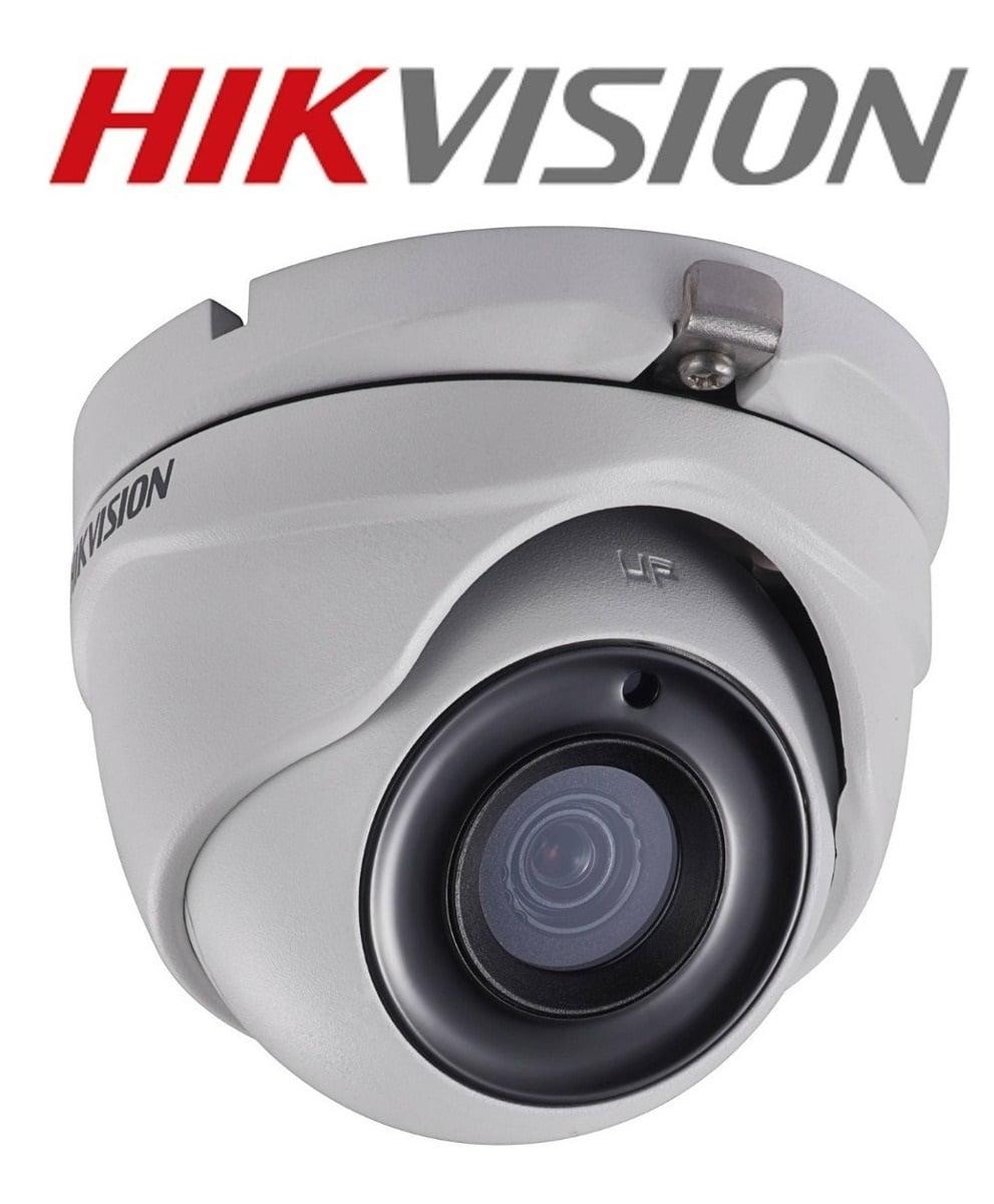 Câmera Hikvision DS-2CE56D8T-ITM de segurança Dome Full HD 1080p 20 Metros IP66