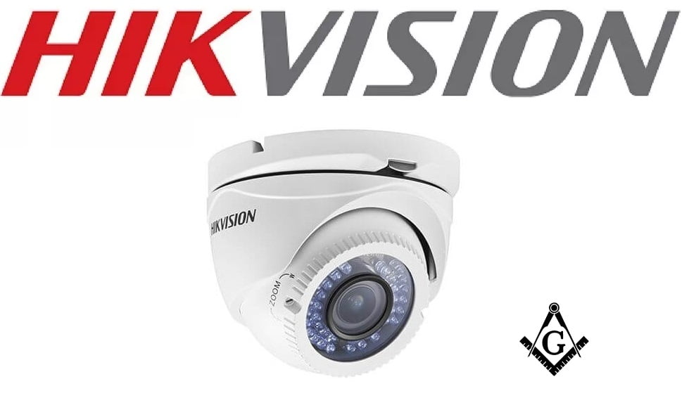 Câmera Dome Turbo HD 1080p 40m 2.8-12mm Hikvision 2CE56D1T-VFIR3