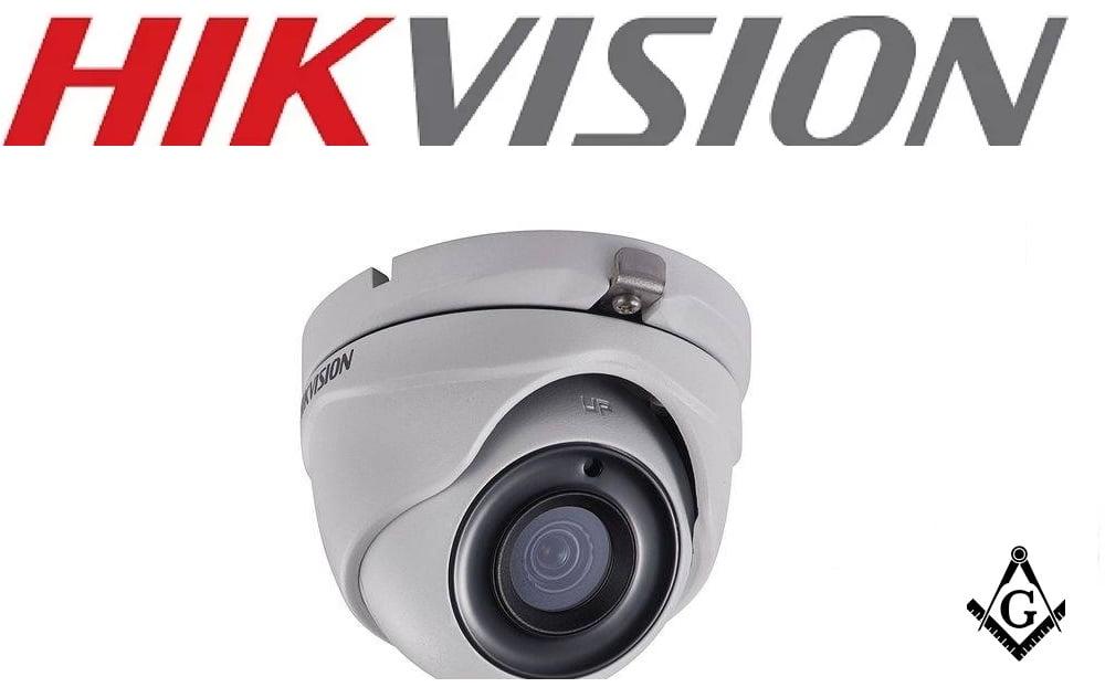 Camera dome Turbo Hd 4.0 Exir 1536p 3mp 20m Ir 2.8mm Ds-2ce56f1t-it Hikvision 3,6mm