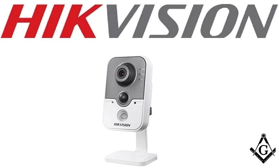 Câmera Hikvision Cubo DS-2CE38D8T-PIR Full Hd 1080p, 20mts, infra vermelho, Exlr, Smart IR, ICR, 0.05 lux Ultra Low Light, (Lente 2.8mm)