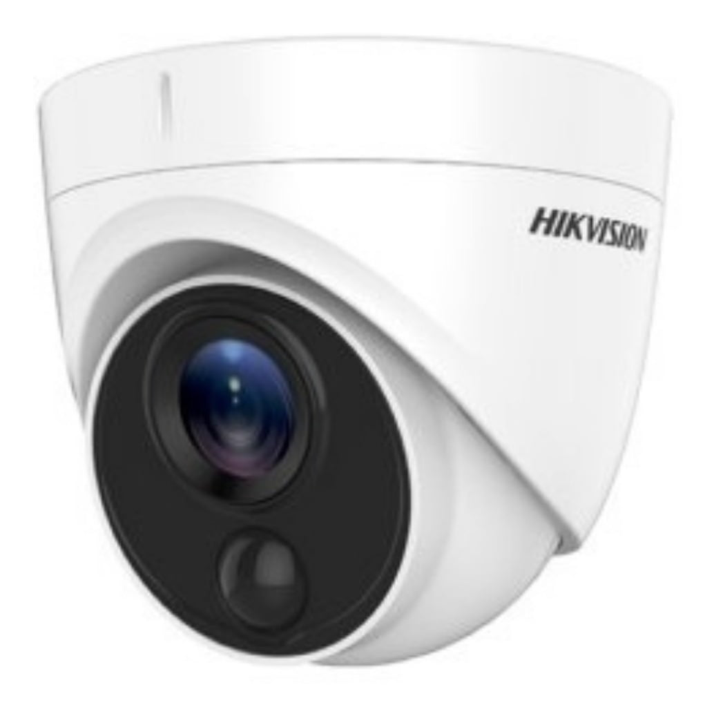 Câmera Dome Hikvision DS-2CE71D8T-PIRL Full Hd 1080p, 20 mts, infra vermelho, exir, smart IR, Icr, 0.005 lux, Ultra Low Light (Lente 3,6mm)
