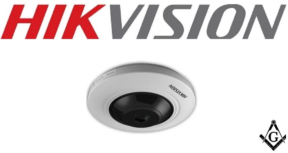 Câmera Fisheye Hikvision 360° 5 Megapixels DS-2CC52H1T-FITS, Microfone Embutido