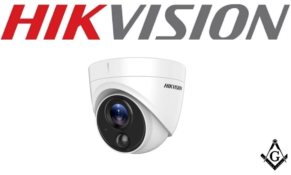 Câmera Hikvision dome DS-2CE71D0T-PIRL Full Hd 1080p, 20mts, infra vermelho, Exlr, Smart IR, ICR, 0.01 lux Ultra Low Light