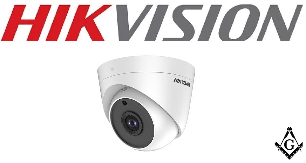 Câmera Hikvision DS-2CE56H0T-ITPF 5 MP Dome Camera, OSD menu, 2D DNR, DWDR, lente 2,8mm