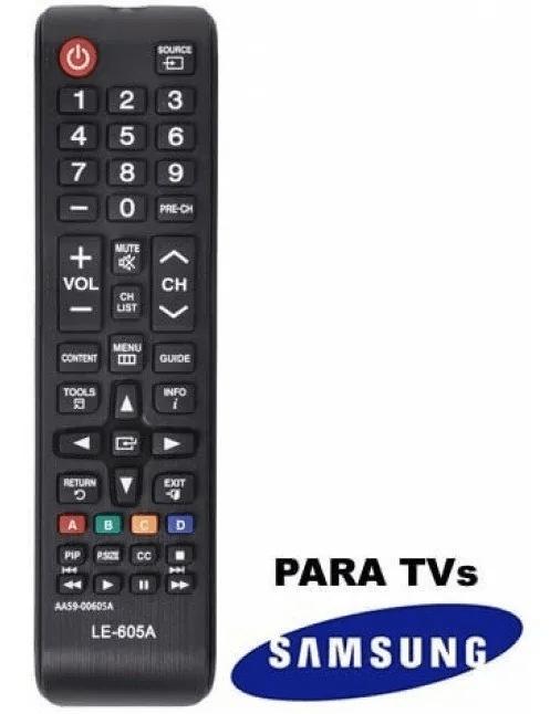 Controle Remoto Compatível Com Tv Samsung - Mod. 605a