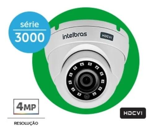 Camera Hdcvi Vhd 3420d Dome 2,8 4mpixel 2k 1440p Intelbras H