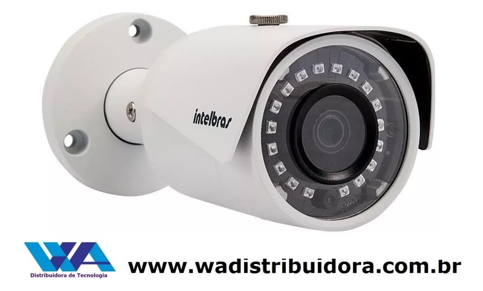 Câmera de segurança infra bullet Ip Vip S3020 Intelbras 720p Hd 20 Metros G3