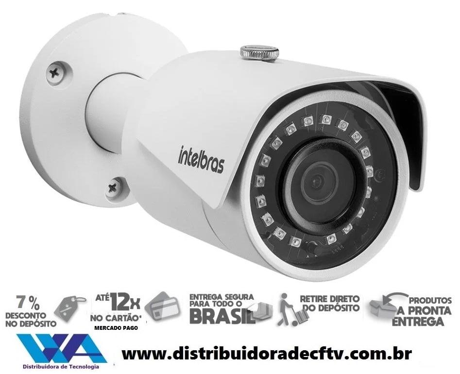 Câmera de segurança IP Intelbras WiFi Full HD VIP 3230 W 1080p