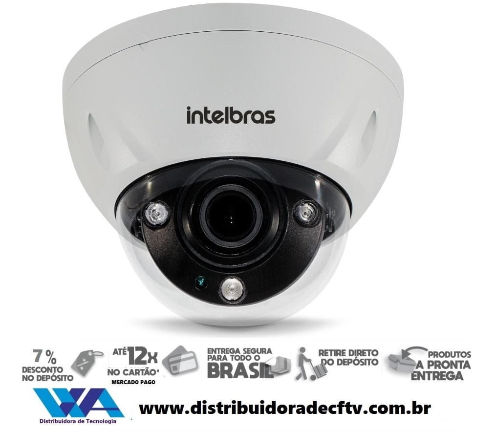 Câmera de segurança IP Full HD 4MP Intelbras VIP 5450 DZ G2 4MP