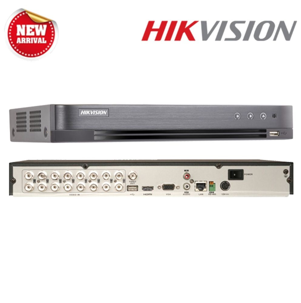 Dvr stand alone Hvr hikvision Ds-7216hqhi-k2 16 Canais