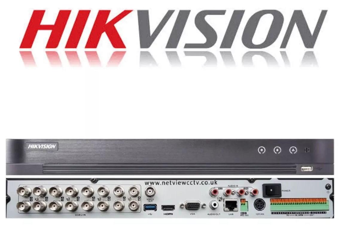 Gravador Dvr Stand alone hikvision Ds-7216huhi-k2 16 CANAIS 5 EM 1 TVI - CVI - HDI - CVBS - IP  H.265