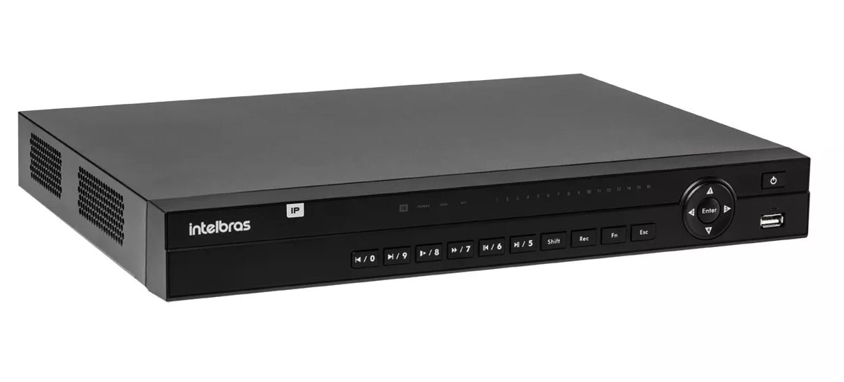 Gravador Nvr Intelbras Ultra Hd 32 Canais Nvd 1232 Ip 4k