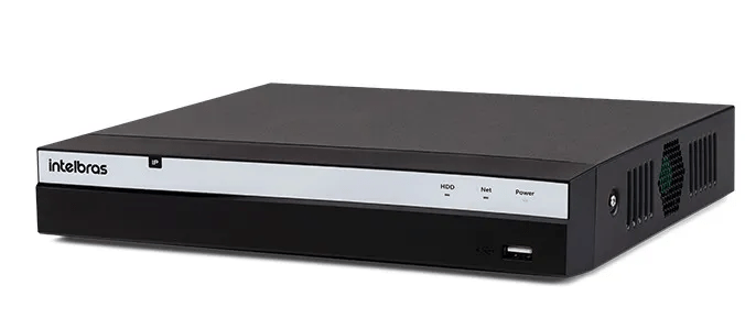 Gravador Digital Nvr Ip Nvd 3208 P 8 Portas Poe Intelbras