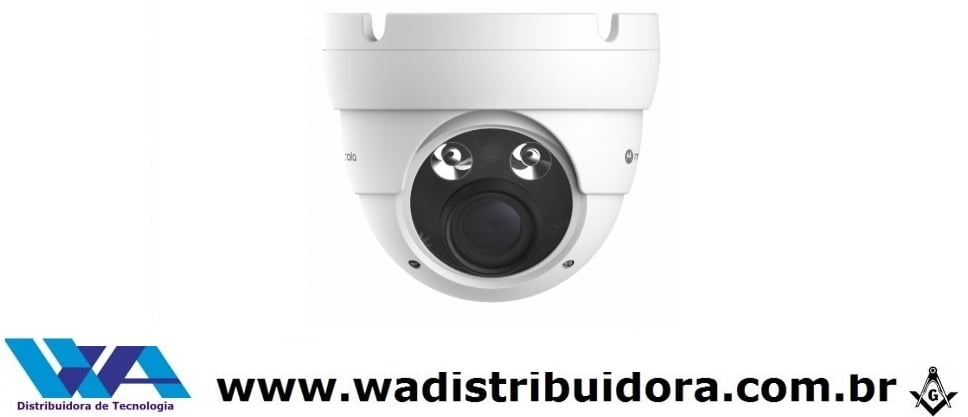 Câmera varifocal Dome 4 em 1 - 1080p FULL HD Metal motorola MTD302MSV