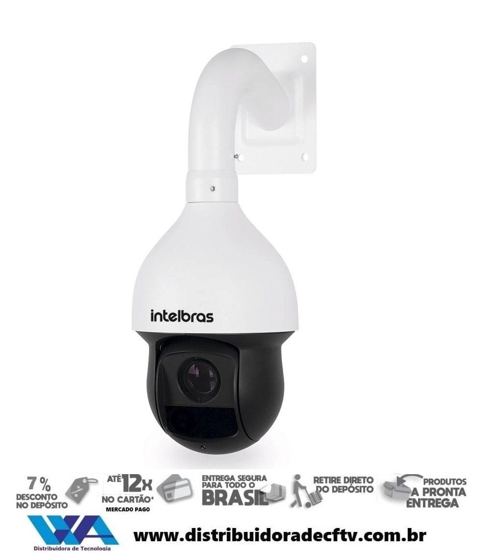 Câmera de segurança e cftv Speed Dome IP Full HD VIP 5220 SD IR Intelbras Com IR 150 Metros Zoom 20x