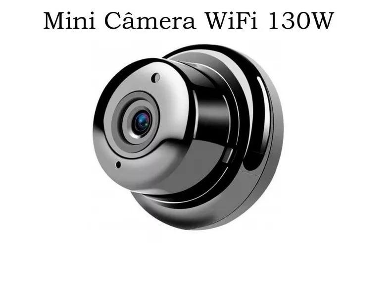 Mini Câmera Espiã Visão Noturna Ip Wi-fi Hd 720p Barato