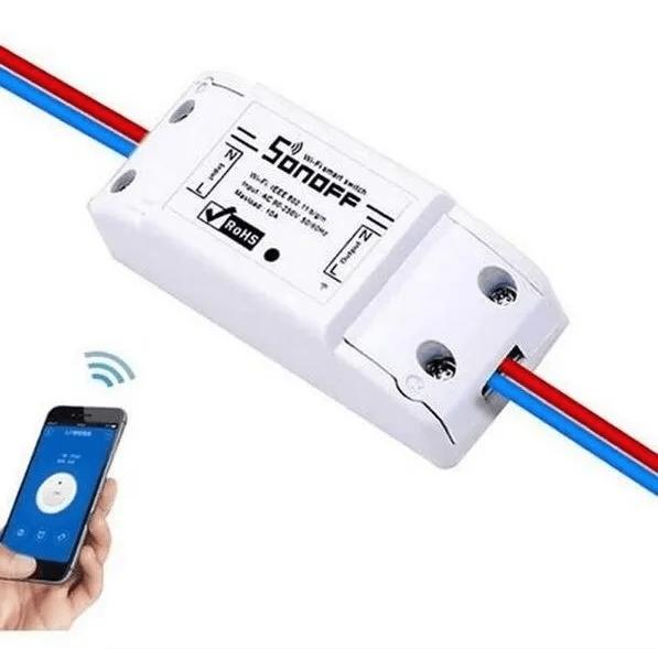 Interruptor Wi-Fi Sonoff Basic Automação Residencial - Original