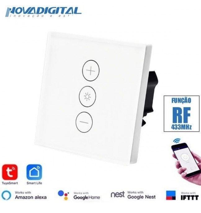 Interruptor WiFi Touch SmartHome Dimmer - 1 Lâmpada