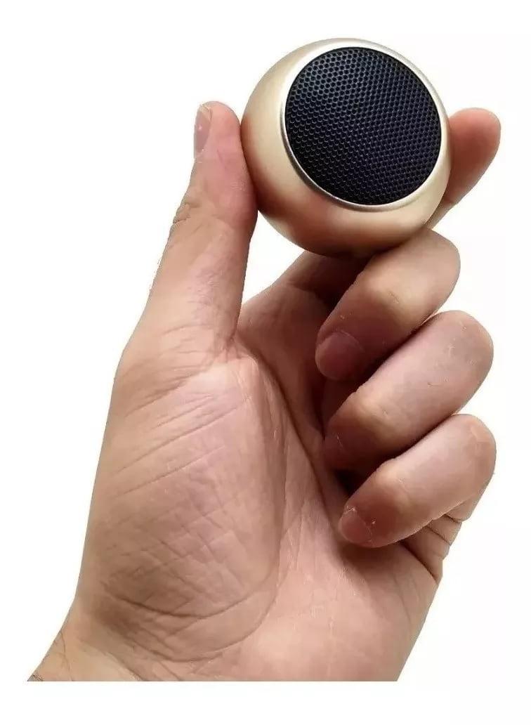 Caixinha De Som Bluetooth Tws Metal Amplificada Speaker 3w