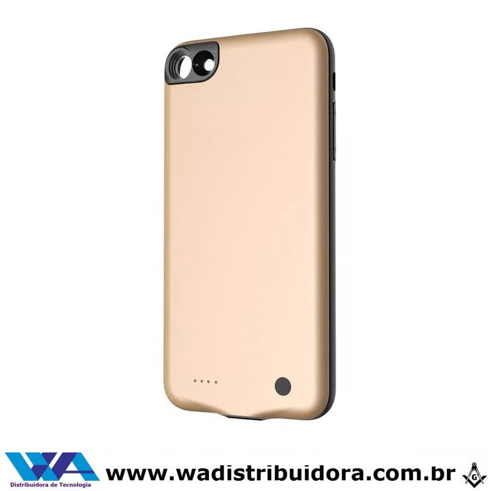 Capa Carregadora Baseus Geshion para Iphone 7/8 2500mah Dourado