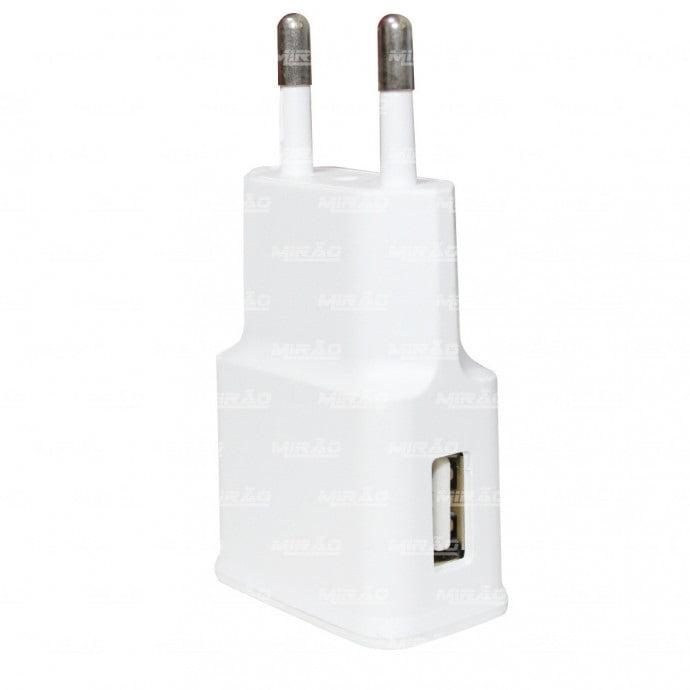 Carregador com Entrada USB 2000ma para Smatphones e Tablets - AD0012