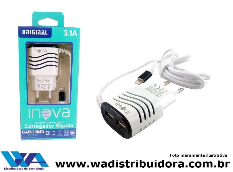 Promoção 10 Carregadores Iphone 3.1A Inova