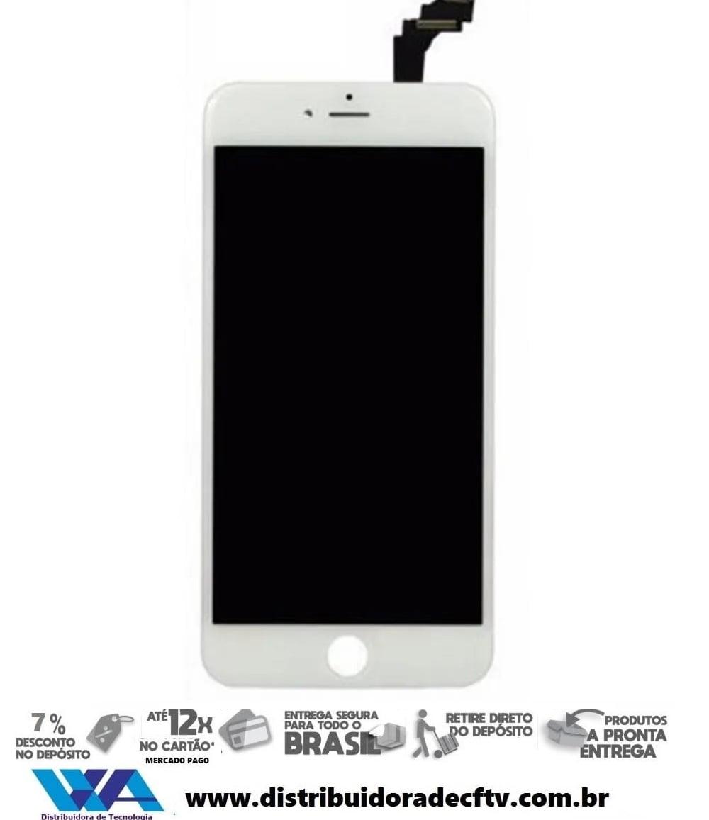 Tela iPhone 6S Plus Branco - Tipo AA
