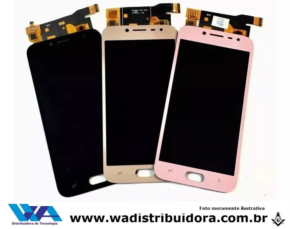 Tela Lcd Display Frontal Touch Galaxy J2 Pro J250