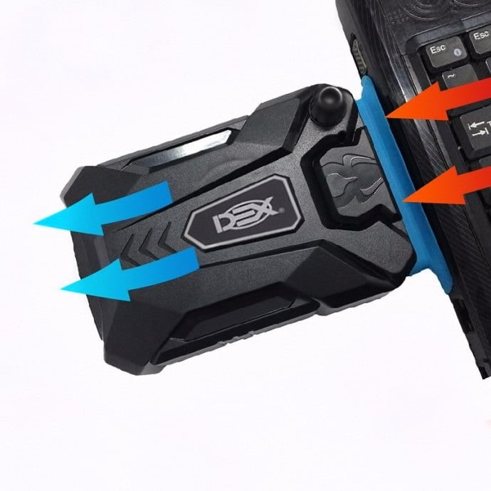 Cooler Exaustor Portátil Usb Para Notebook - DX-1000