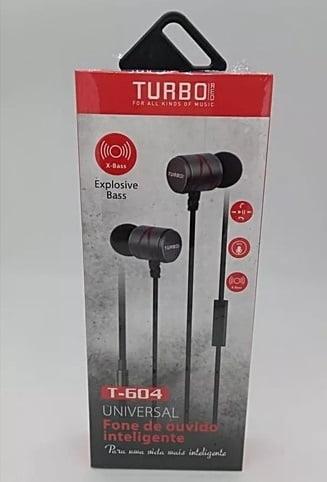Fone De Ouvido Turbo T-604 Explosive Bass