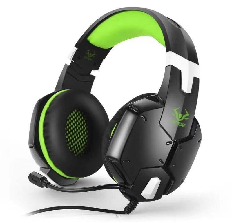 Fone de Ouvido Headset Gamer Verde para Ej 901 para Pc - Ps3 - Ps4 - Xbox One - Switch e Celular