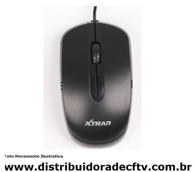 Mouse com fio X-TRAD XT-610
