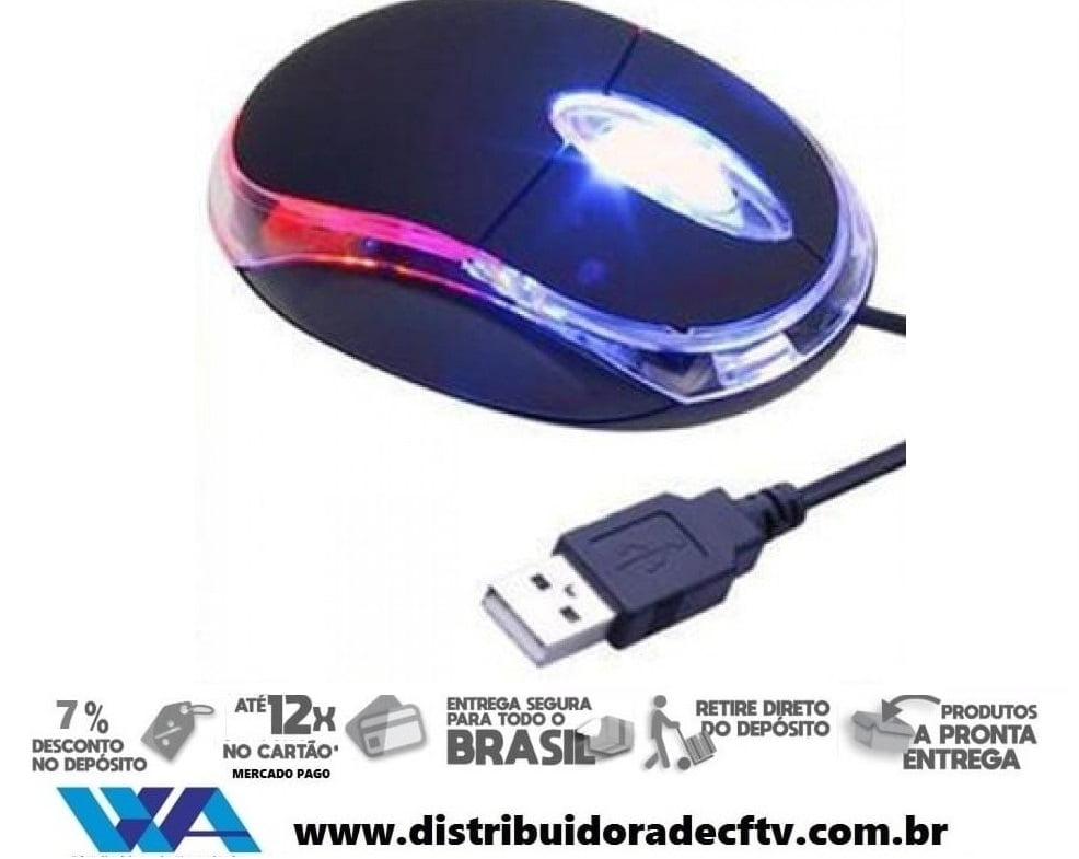 Mouse Óptico USB - Savage