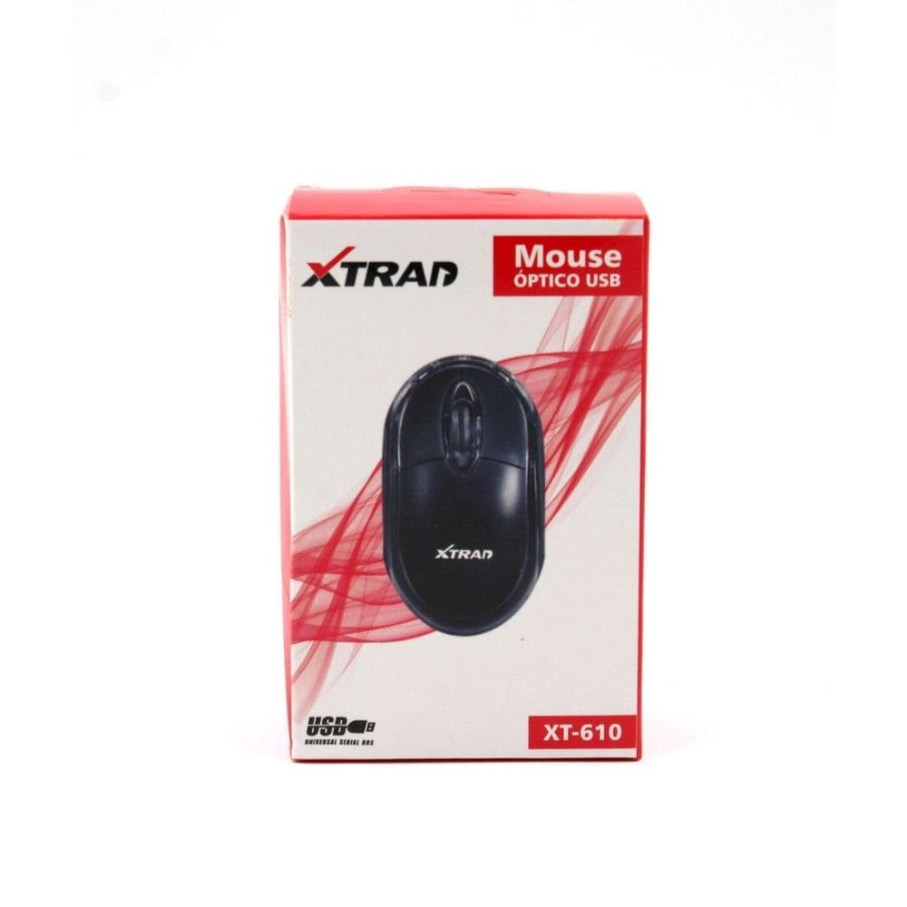 Mouse Optico Usb com Fio Xtrad XT-610