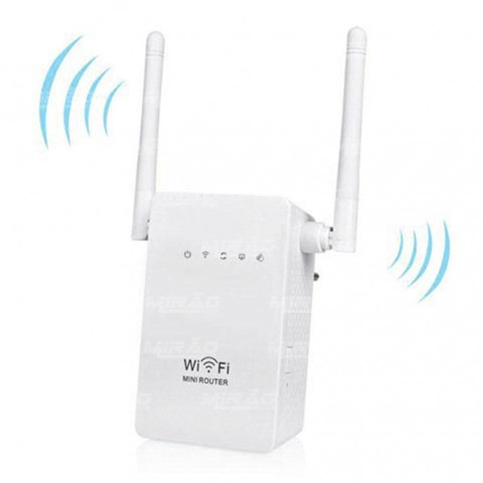 Repetidor de Sinal Wireless-N 300MBPS Exbom - WR13
