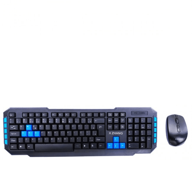 Teclado e Mouse Wireless - Tipo Gamer