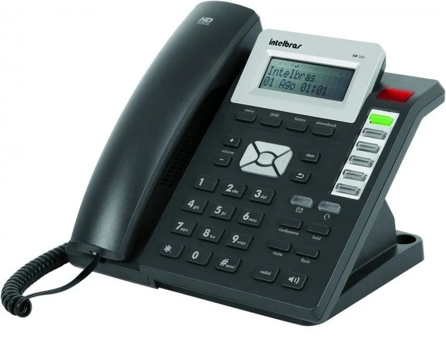 Telefone Ip Tip 200 Lite intelbras - original + nota fiscal