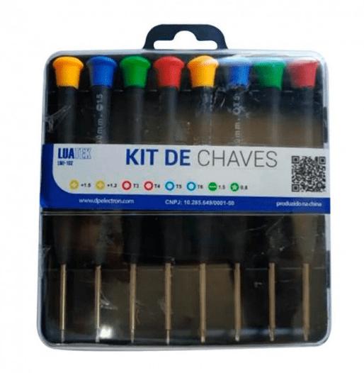 KIT DE CHAVES COM 8 PEÇAS LUATEK LWJ-102