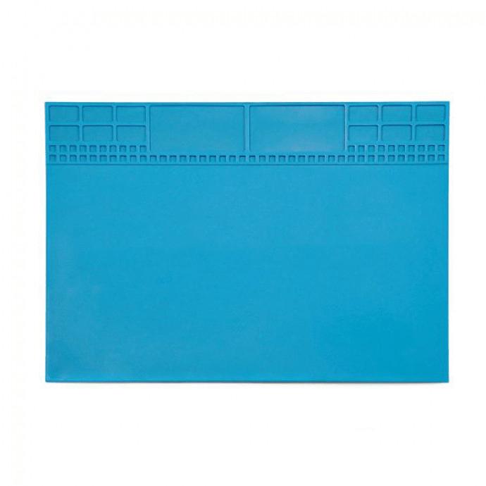 Tapete Manta em Silicone Resistente ao Calor com Porta Objetos 350 x 255 EXBOM - KLTE-504