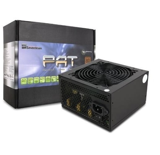 FONTE ATX 800W REAL SEVENTEAM 80 PLUS ST-800