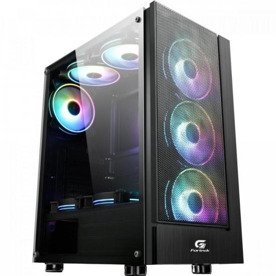 Gabinete Gamer Mid Tower CRUISER RGB FORTREK